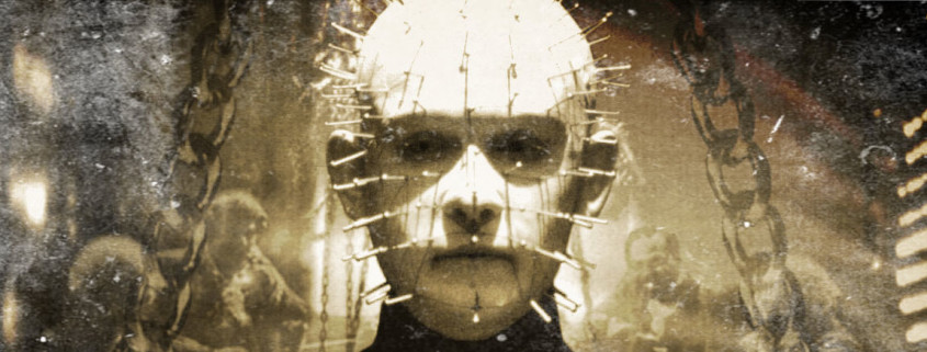 Featured Image From Hellraiser (IMDb) With Modifications Thanks to Pixlr Express.